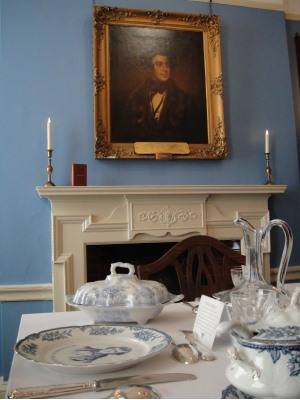 Charles Dickens Doughty Street dining room