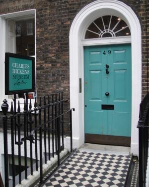 Charles Dickens Museum front door