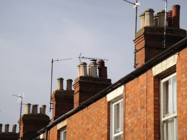 Chimneys in Stony Stratford