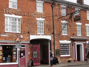 The Bull Hotel in Stony Stratford