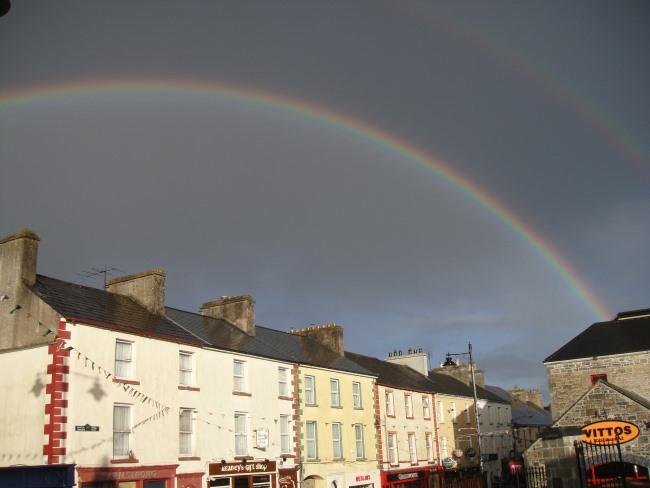 Double Rainbow over Carrick
