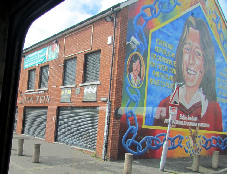 Photo diary of belfast northern ireland for Bobby sands mural