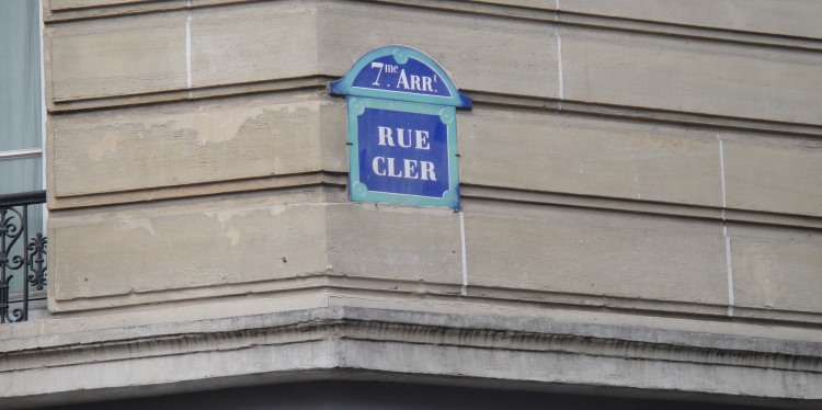 rue clere sign